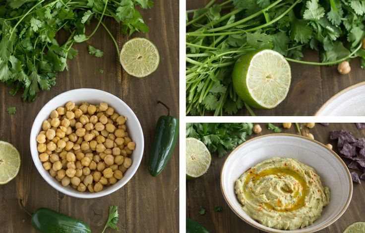 Jalapeno Lime Hummus {Gluten free, Low fat + Super Simple} - Food ...