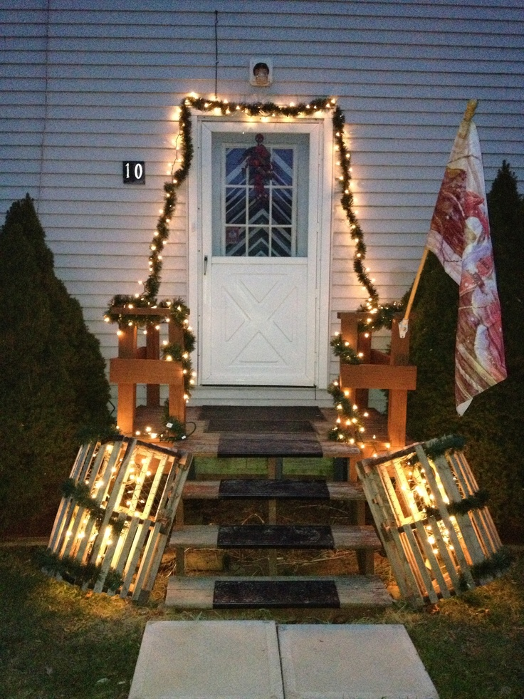 Lobster trap Christmas decorations. | Ideas | Pinterest
