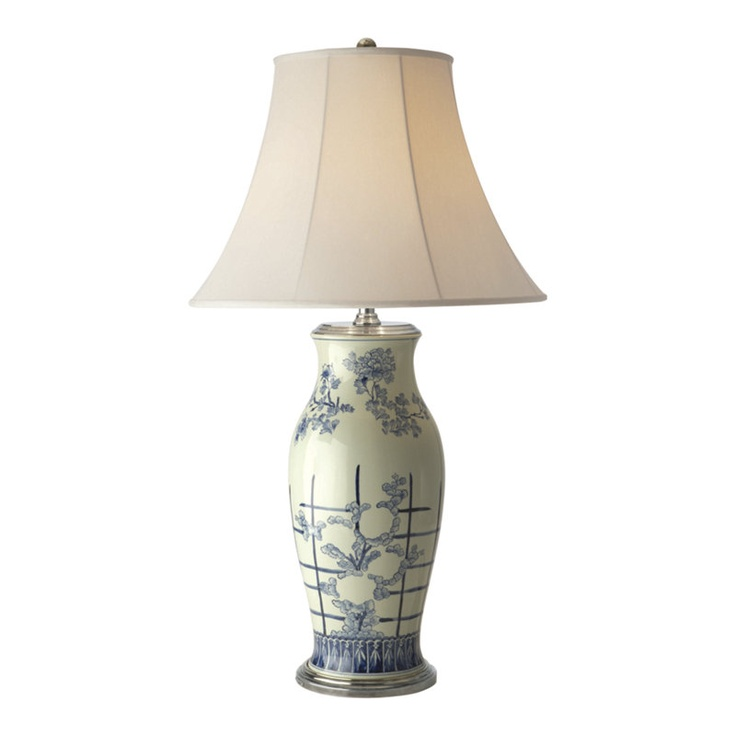 ralph lauren blue and white table lamps. Black Bedroom Furniture Sets. Home Design Ideas