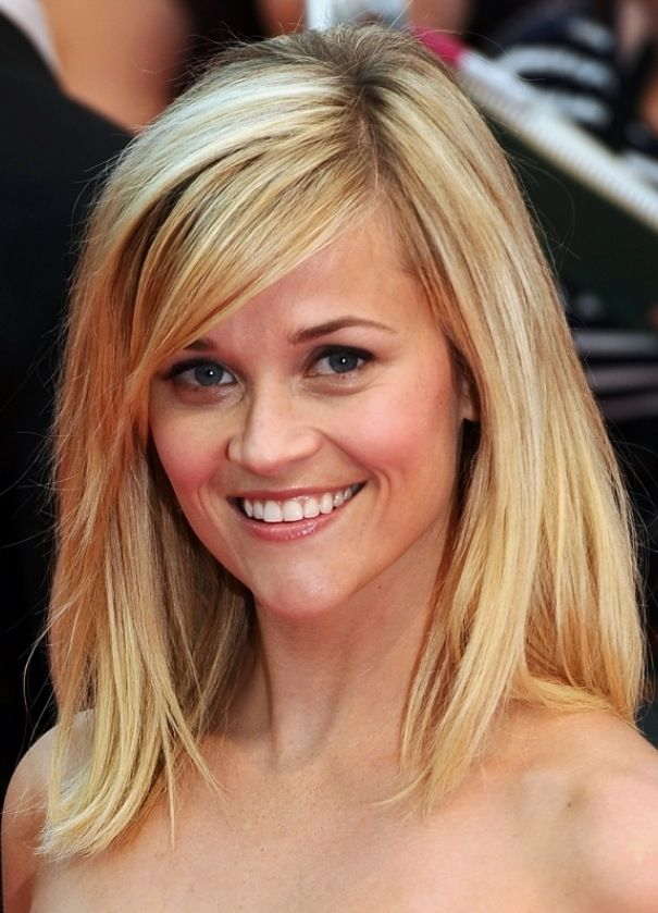 Long Layered Hair With Side Swept Bangs together with Long Hair With ...