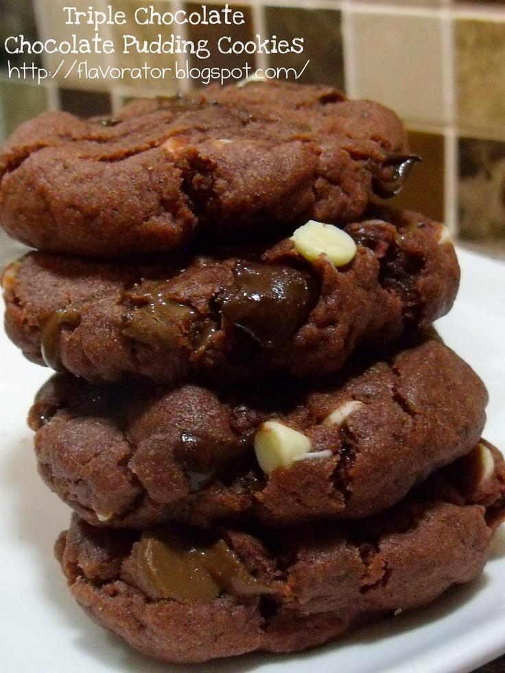 ... triple chocolate nanaimo bars triple chocolate chocolate pudding