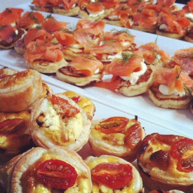 puff pastry canapes entertaining guests pinterest