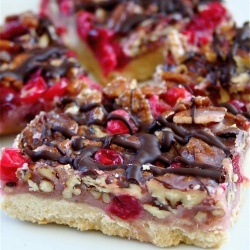 Cranberry Turtle Bars | Recipes: Cookies | Pinterest