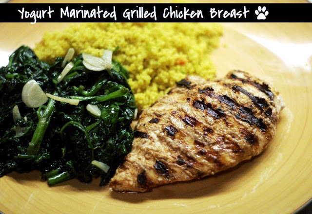 Yogurt Marinated Chicken - Great marinade...you can grill the chicken ...