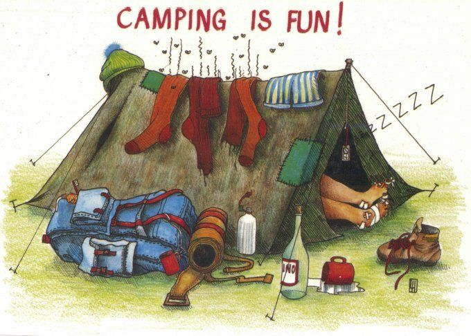 adult camping activities