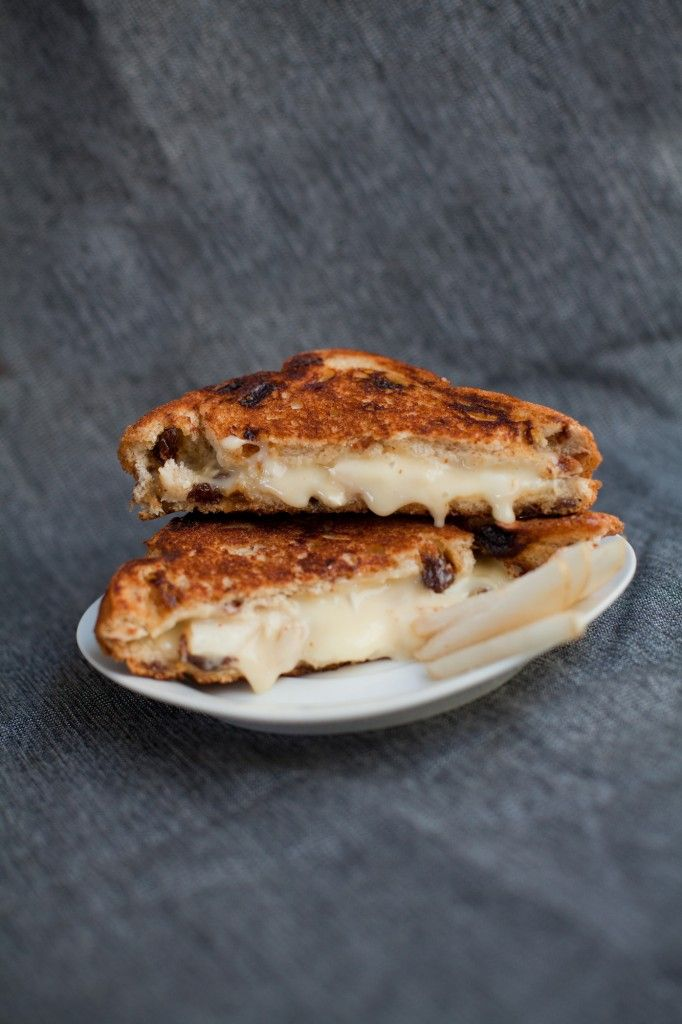 Brie & Pear Grilled Cheese Sandwich | Recipe