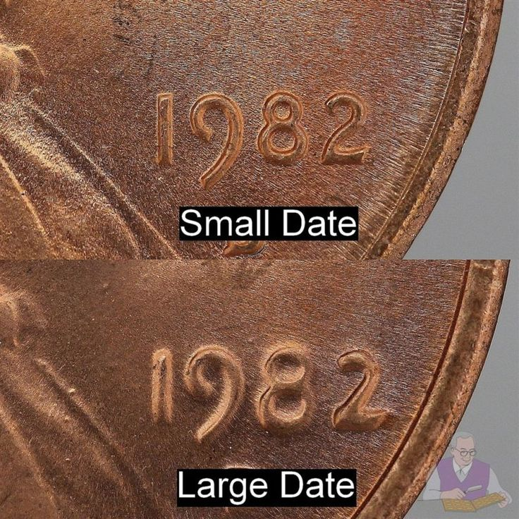 difference s in 1982 penny d series