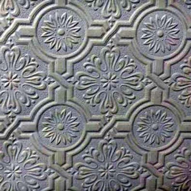 paintable wallpaper embossed tile heavy textured 148 32817