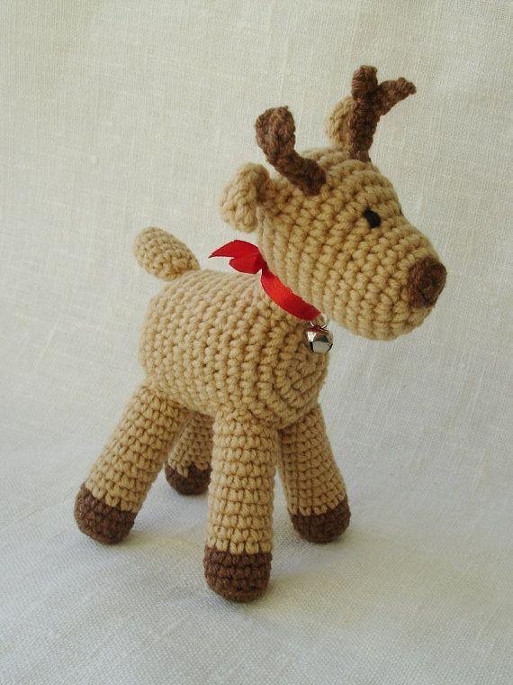 Crochet Baby Deer Pattern : Deer - pattern crochet pdf