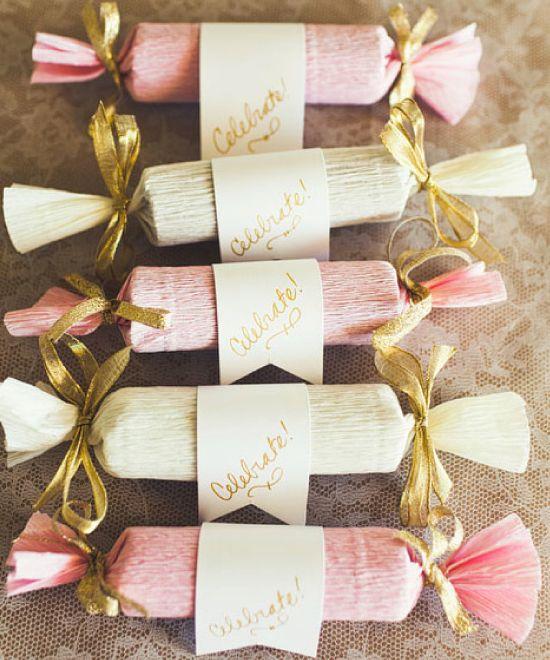Mariage DIY : un marque place gourmand
