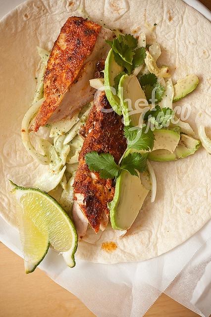 Saucy Serano Fish Tacos | Food | Pinterest