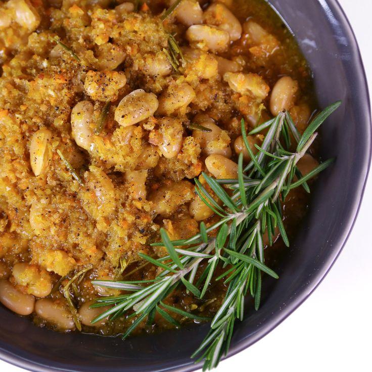 the chew | Recipe | Mario Batali's Braised White Beans