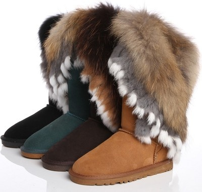 If these were Faux~Fur...Id Rock Em'. Love Em.
