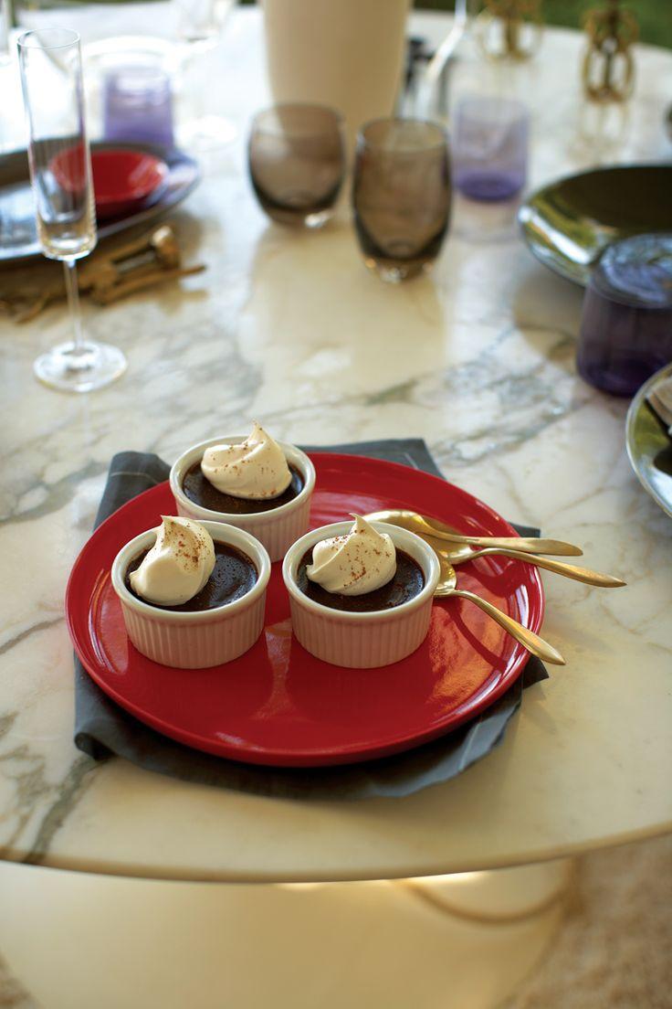 Chocolate-Nutmeg Pots de Crème | Recipes I'd Like to Try | Pinterest