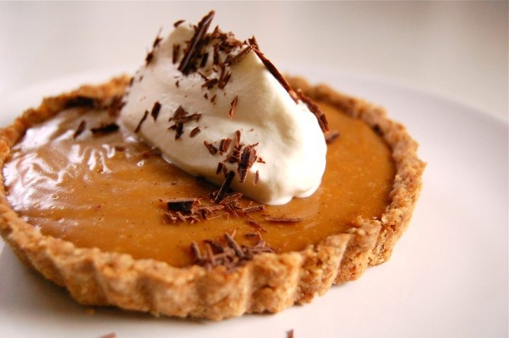 Butterscotch Pudding Tart | Comida | Pinterest