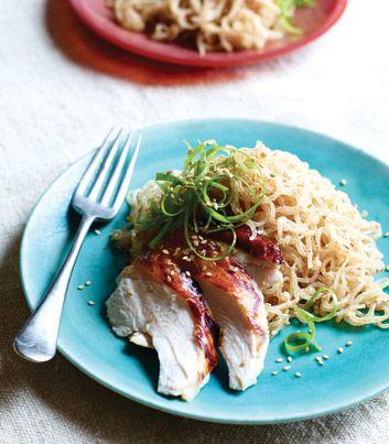 Sesame-Noodles | Healthy foods | Pinterest