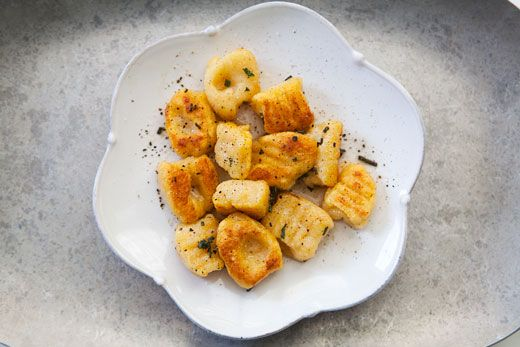 pumpkin ricotta gnocchi - soooooo good. We used canned pumpkin and ...