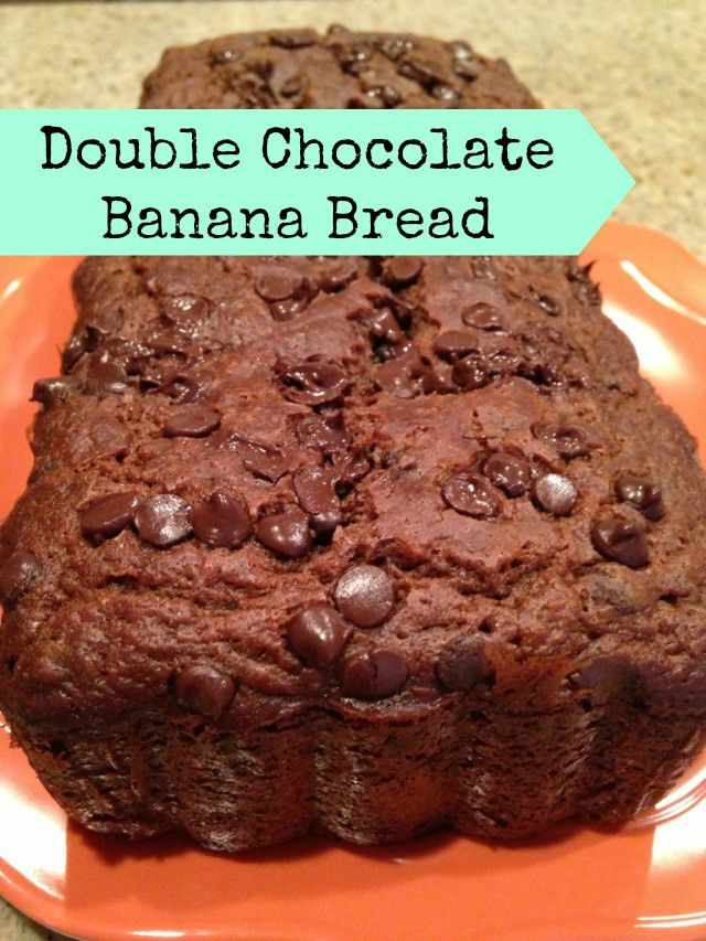 Double Chocolate Chip Banana Bread | Delish! (Desserts) | Pinterest