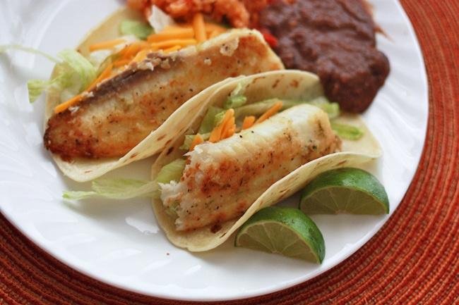tilapia honey lime fish tacos | Favorite Recipes | Pinterest