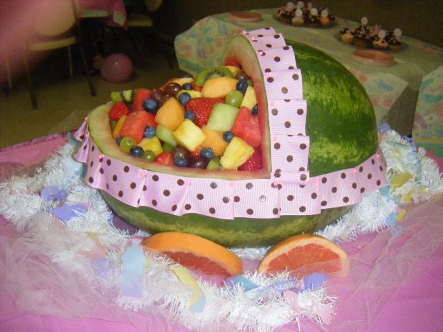 baby shower fruit basket shower ideas pinterest