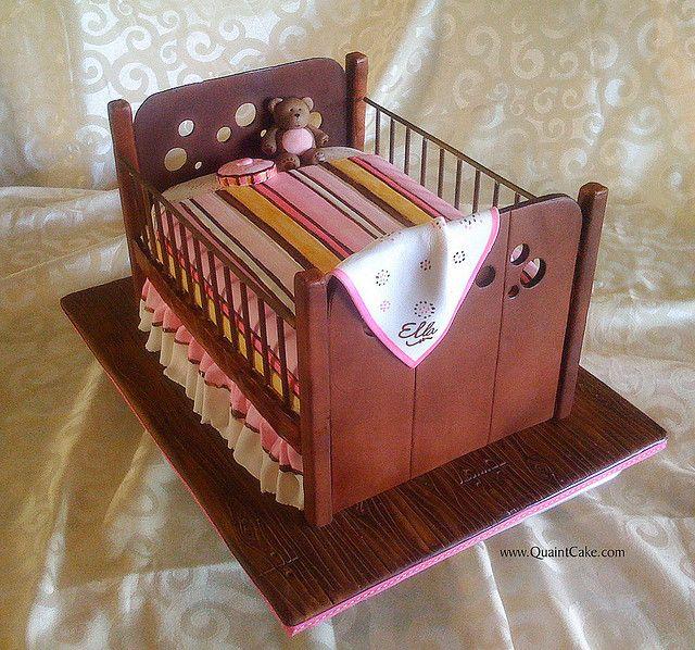 baby crib cake