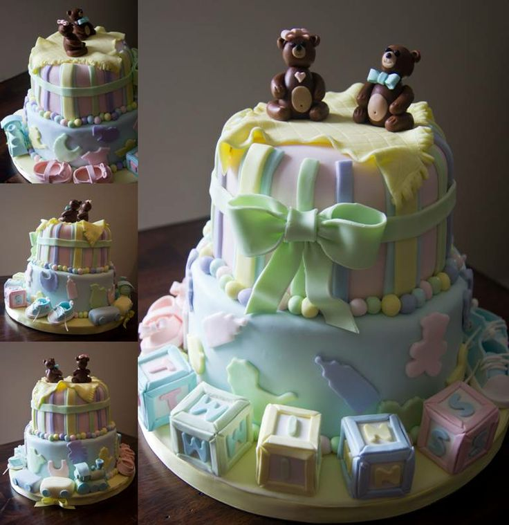 baby shower beautiful decorated cakes pinterest