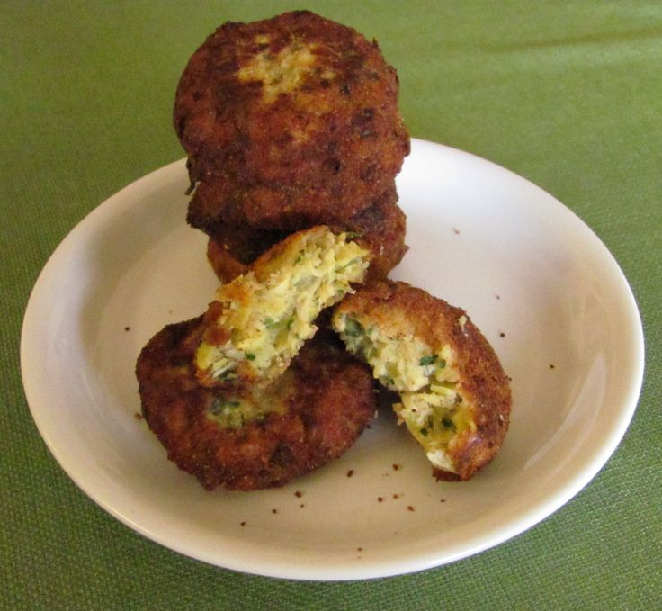 Lemon artichoke, and feta fritters | Food | Pinterest