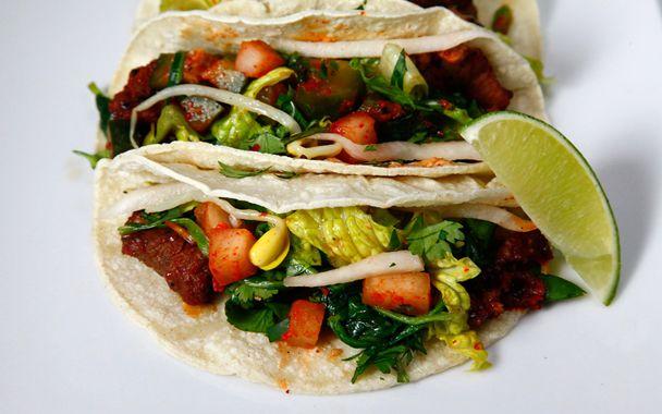 Korean tacos | Recipes | Pinterest