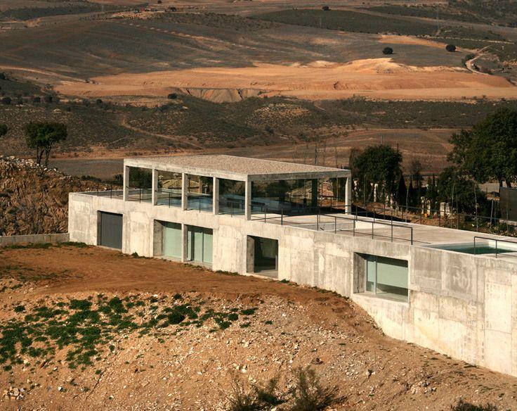 Casa rufo por alberto campo baeza arquitectura pinterest - Casa campo baeza ...
