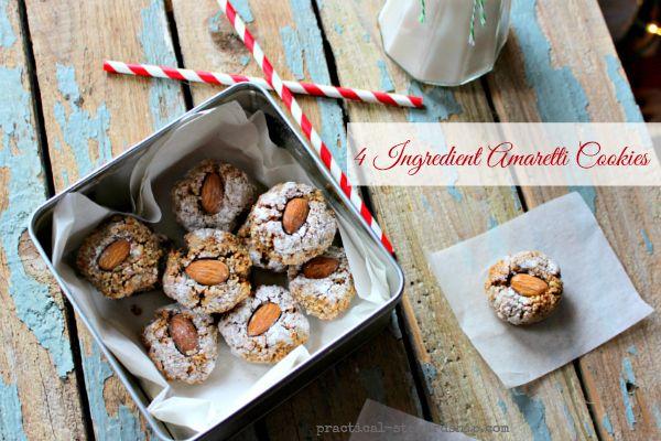 Amaretti Cookies, Naturally Gluten-Free - Practical Stewardship