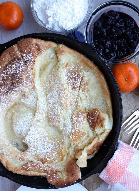 german pancakes. | Good Mornings | Pinterest