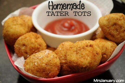 Homemade Tater Tots | For the belly | Pinterest