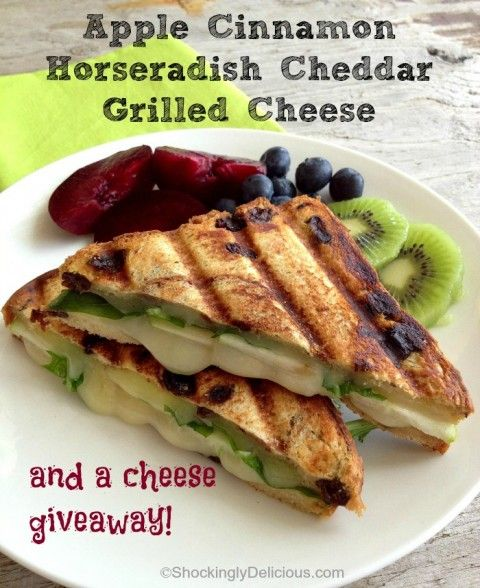 Apple Cinnamon Swirl Grilled Cheese Sandwich Recipe — Dishmaps