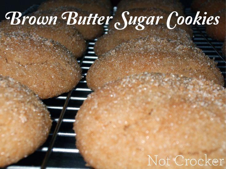 Brown Butter Sugar Cookies | Favorite Recipes | Pinterest