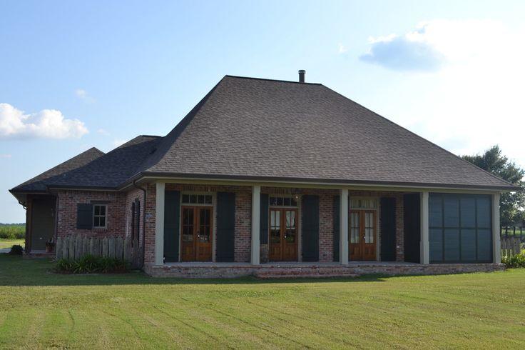 Acadian home acadian homes pinterest for Acadian home builders