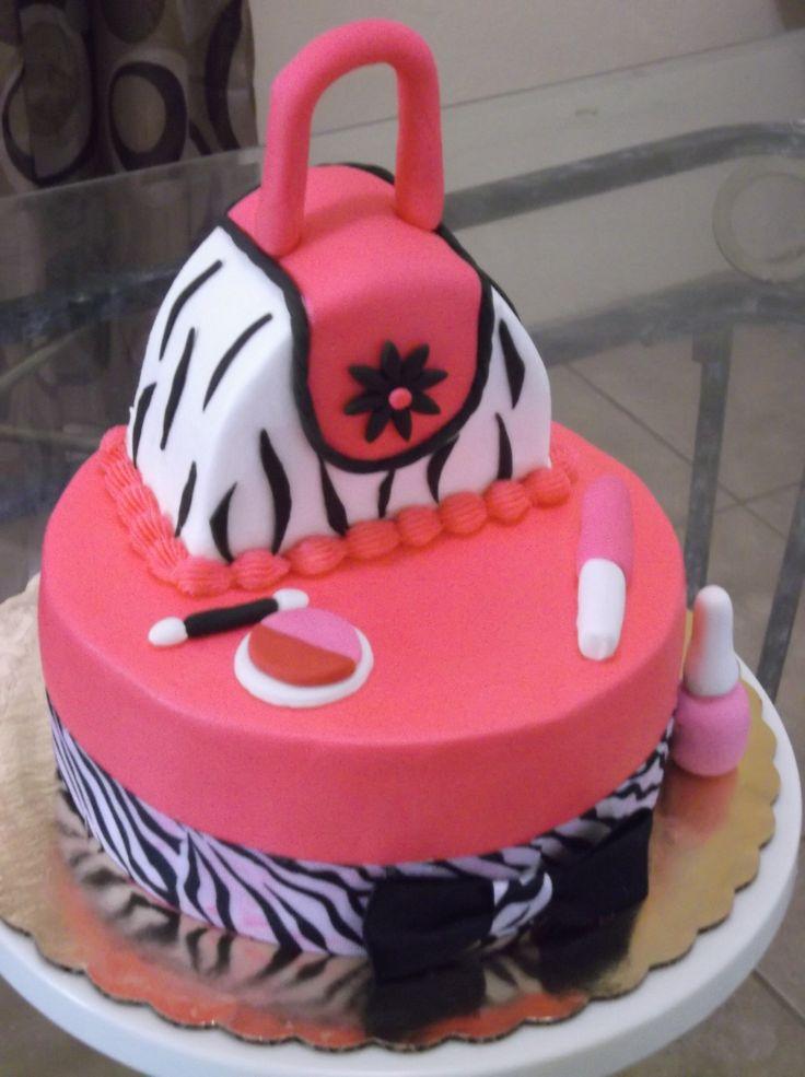 Birthday Cake Images Maker : Make Up Birthday Cake Cakes - Make-Up Pinterest