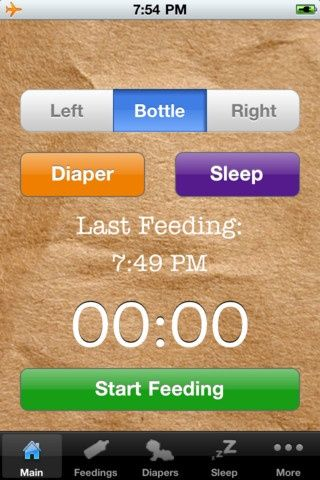 best baby tracking iphone app