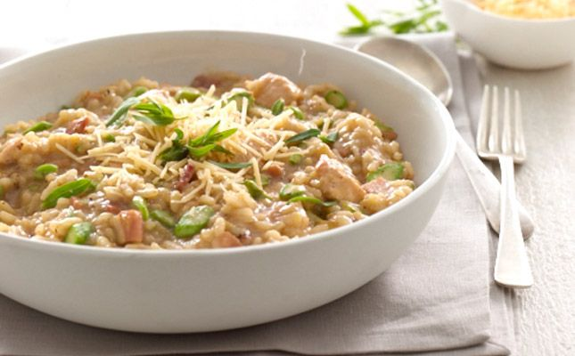 chicken and asparagus risotto | food | Pinterest