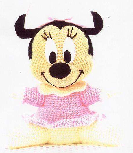 Patron Amigurumi Baby Minnie : amigurumi pattern crochet Minnie baby pdf pattern