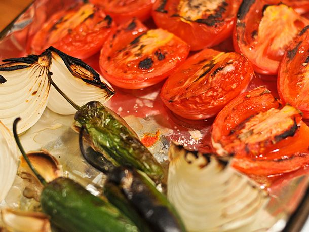Roasted Tomato Salsa | Recipe