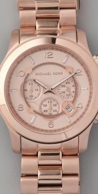 Michael Kors Rose Gold.