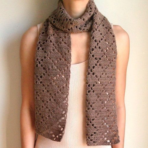 Crochet Stitches For Scarf : Pin by Khima Thapa on Crocheted scarf Pinterest