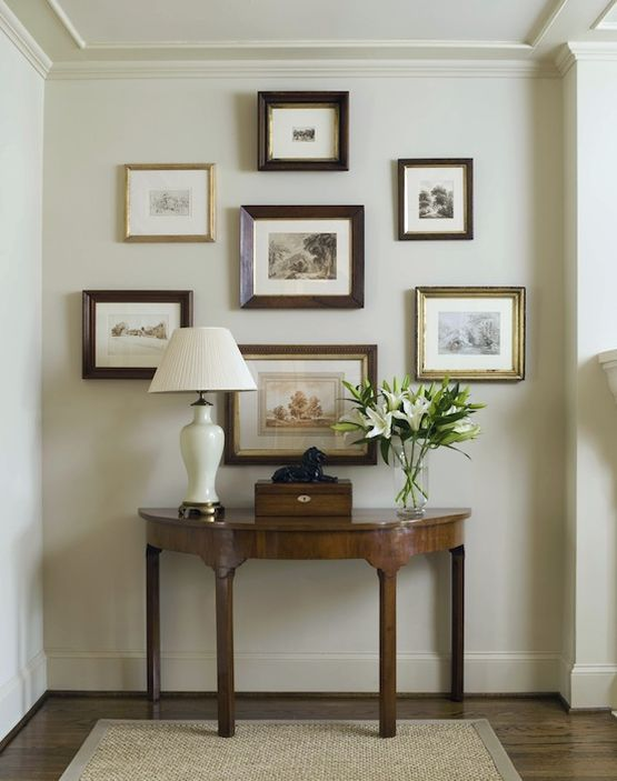 Pin by tammy hilburn on pretty objects vignettes Painting arrangements on wall