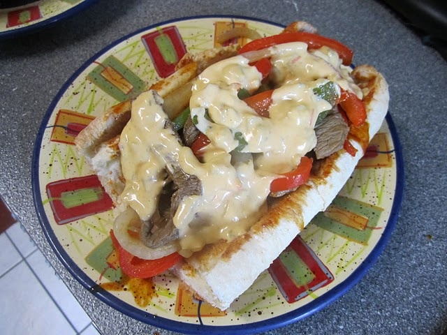 Mexican+Cheese+Steak+Recipe Philly-Goes-Mexican Cheese Steak Recipes ...
