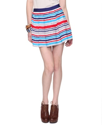 cute fourth of july skirt -- forever 21