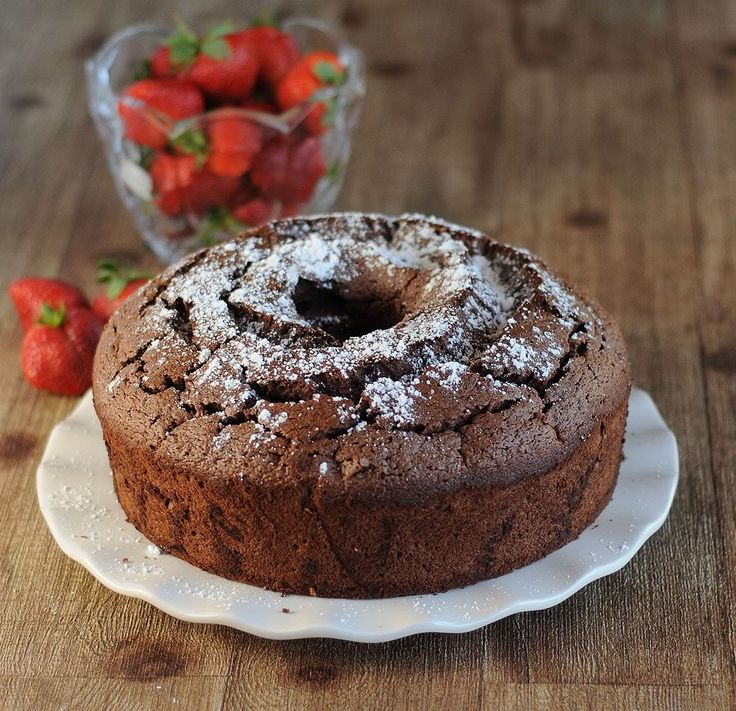 The Dark Side of Angel Food Cake (Recipe: Chocolate Angel Food Cake