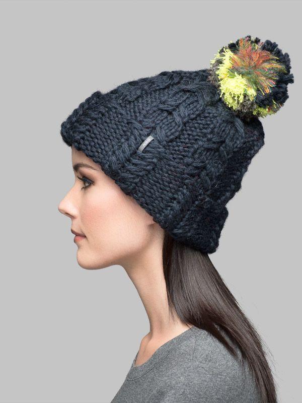 Knitting Pattern Toque : Nobis Ashley - Knit Cuffed Toque knitting/ needle crafts Pinterest