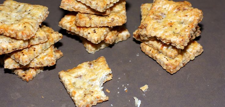 Stilton, Walnut, & Thyme Crackers | RadioGastronomy | Pinterest