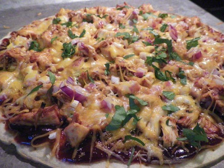 BBQ Turkey Pizza | Kristina's House | Pinterest