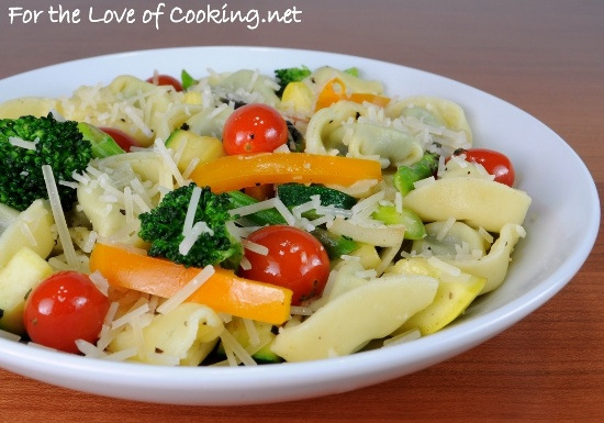 Spinach and Cheese Tortellini Primavera | Comfort Foods/Pasta | Pinte ...